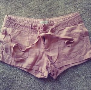 Pants - Dusty Pink Shorts